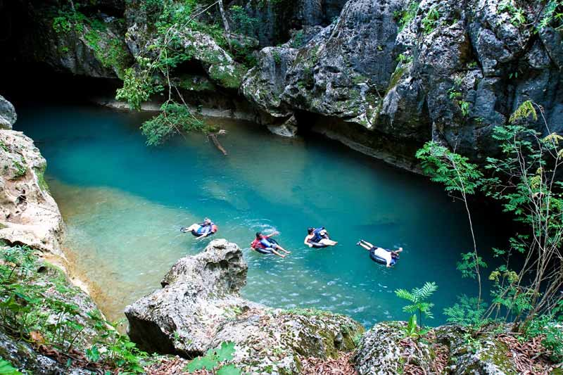 Cave-tubing-in-Belize